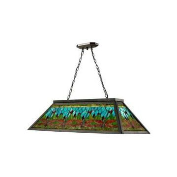 Dale Tiffany Glade Pool Table Hanging Fixture