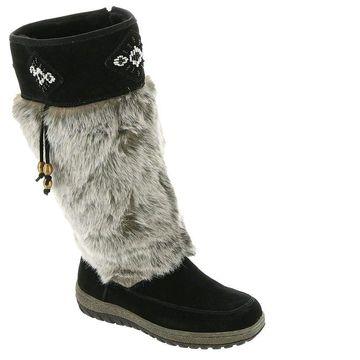 Wanderlust Womens Fabric Closed Toe Knee High Fashion Boots