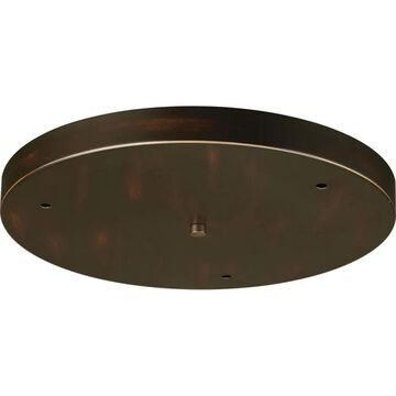 Progress Lighting Canopy Kit 15-1/2-in Round for Up to 3 Pendants   P8403-20