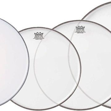 Clear Emperor Standard Pro Pack with Free 14 in. Coated Emperor Snare Drum Head