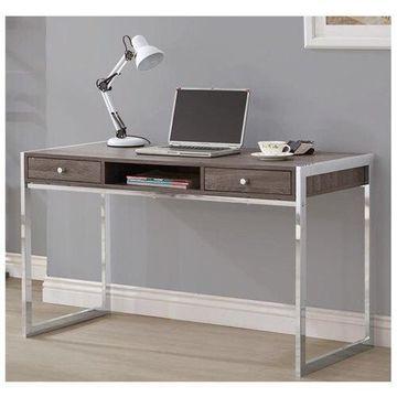 Coaster Computer Desk Dark Gray