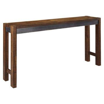 Signature Design by Ashley Torjin 72 in. Long Counter Height Console Table