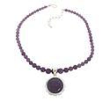 Mine Finds by Jay King Sterling Silver Lepidolite Pendant with Necklace