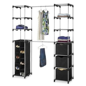 Whitmor Deluxe Double-Rod Closet