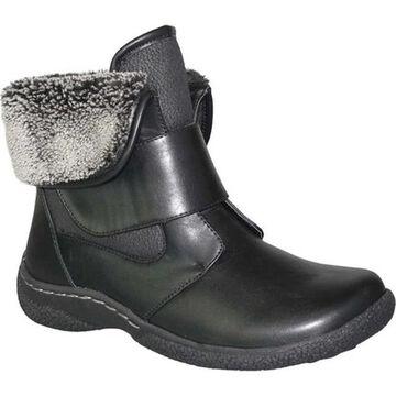 Wanderlust Women's Gill 2 Winter Ankle Boot Black Waterproof Polyurethane