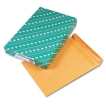 Quality Park Redi Seal Catalog Envelope 12 x 15 1/2 Brown Kraft 100/Box 44067