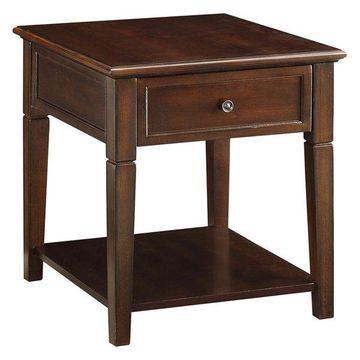 ACME Furniture Malachi End Table, Walnut