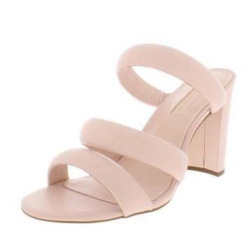 Avec Les Filles Womens Mara Banded Evening Heels