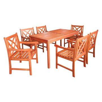 Vifah Outdoor Balthazar Rectangular Table