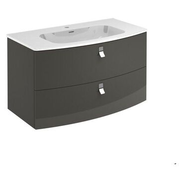 Rondo 100F Complete Vanity Unit, Anthracite, Without Mirror