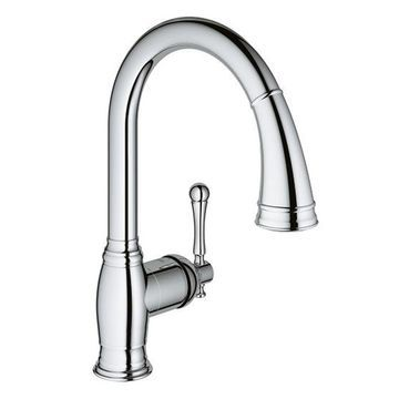 GROHE Bridgeford Chrome Single-Lever Faucet