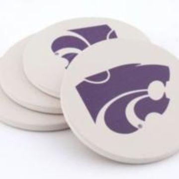 Ksu Thirstystone Coasters, Set of 4