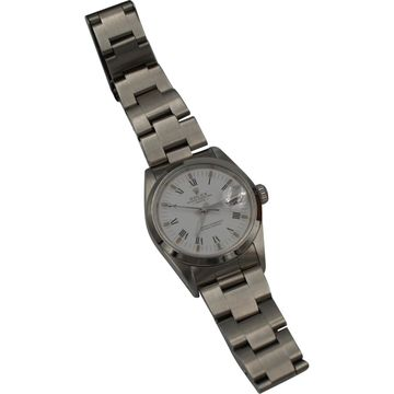 Rolex Oyster Perpetual 34mm Silver Steel Watches