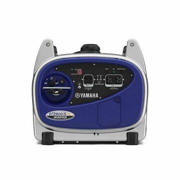 ''Yamaha EF2400iSHC 2400 Watts Gas Powered Portable Inverter Generator, Blue''