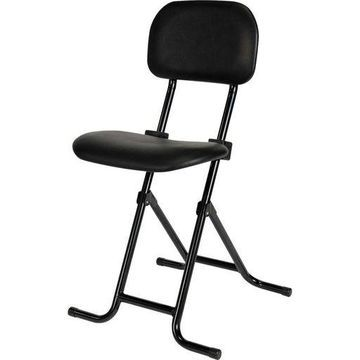 Alera IL Series Folding Stool Black