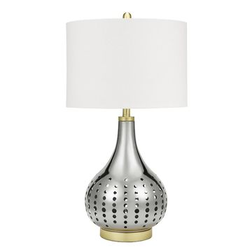 Catalina Lighting Metal Table Lamp with Nightlight