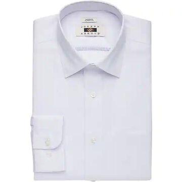 Joseph Abboud Men's Purple Stripe Classic Fit Dress Shirt - Size: 17 1/2 34/35