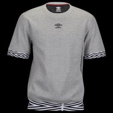 Umbro Club Fleece Crew - Mgh / Black Beauty, Size One Size