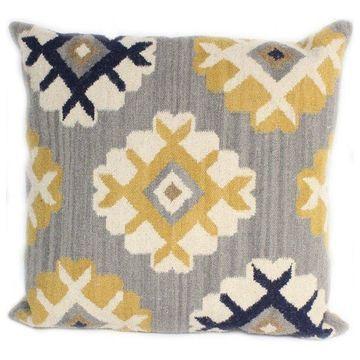 Bashian Seldon Gray Pillow, 2'x2'