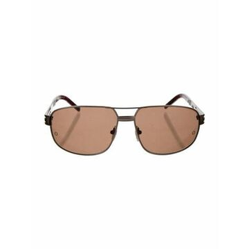Square Tinted Sunglasses Brown