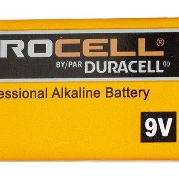 144-Pack 9 Volt Duracell Procell Alkaline Batteries (PC1604)