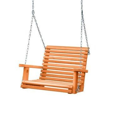 Gorilla Playsets Adult Babysitter Swing with Chains - Cedar