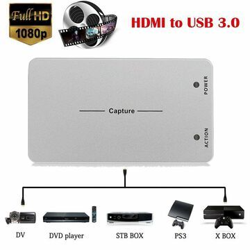 1080P HDMI Video Capture Card USB 3.0 Game Recorder Live For Windows Linux Os MY