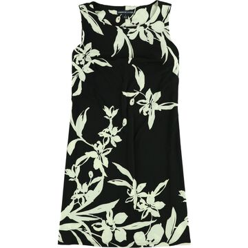 American Living Womens Floral Shift Dress