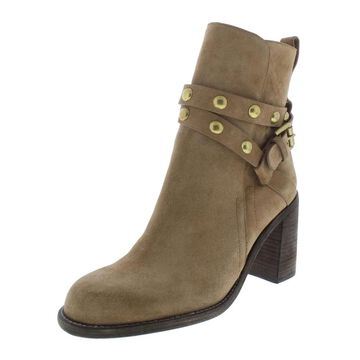 See by Chloe Womens Janis Ankle Boots Leather Buckle