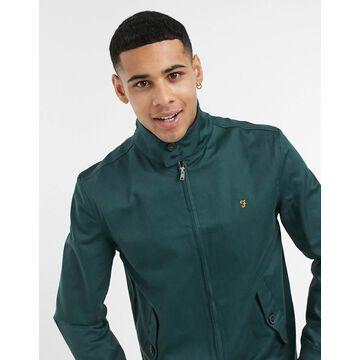 Farah Hardy harrington jacket in green