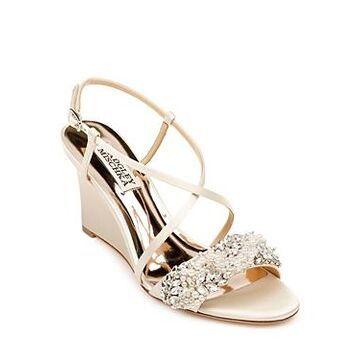 Badgley Mischka Women's Clarisa Wedge Heel Sandals