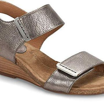 Sofft Womens Verdi Leather Open Toe Casual Slingback
