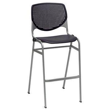 KFI KOOL Armless Stack Barstool with Back
