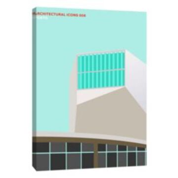 Ptm Images, Architectural Icons 8 Decorative Canvas Wall Art