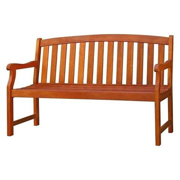 Vifah Outdoor Wood Bench