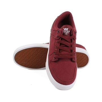 SUPRA Womens Vaider lc Low Top Lace Up Fashion