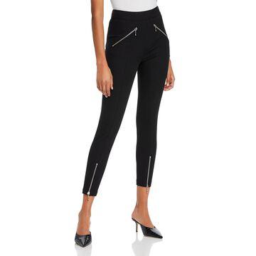 Alexander Wang Womens Dress Pants Zipper Cotton - Black