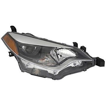 Headlight - DEPO For/Fit TO2502216 8115002E60 14-16 Toyota Corolla Head Light Assembly LEFT NSF