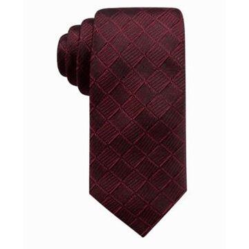 Ryan Seacrest Distinction Men's Franco Geo Silk Tie, Created For Macy's