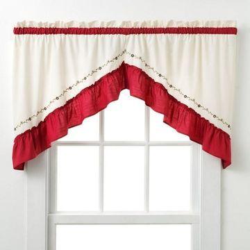 CHF & You Jayden Swag Curtain Pair - 30'' x 60''