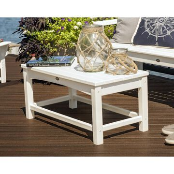 Trex Outdoor Furniture Rockport Rectangle Coffee Table 17.75-in W x 35.5-in L with