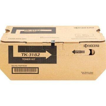 Kyocera, KYOTK3182, Ecosys P3055dn Toner Cartridge, 1 Each