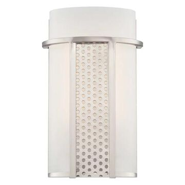 Designers Fountain Lucern LED Wall Sconce, Platinum