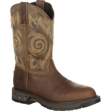 #GB00240, Georgia Boot Carbo-Tec LT Pull-On Work Boot