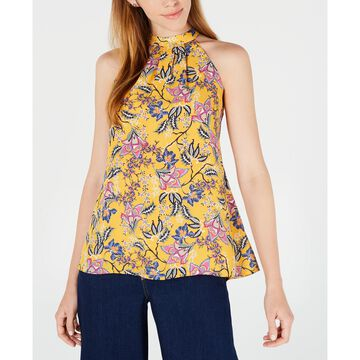 Floral-Print Halter Top, Created for Macy's
