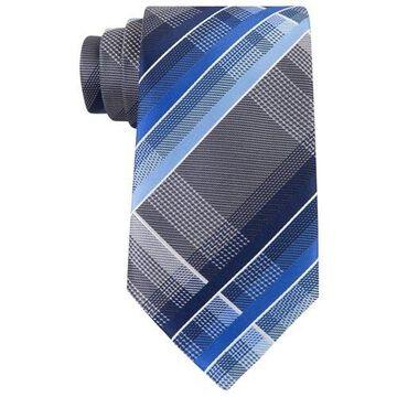 Geoffrey Beene Mens Fearless Plaid Necktie