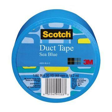 3M Scotch Duct Tape for Artists, Blue, 1.88