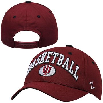 Zephyr Indiana Hoosiers Bailout Knit Hat - Crimson
