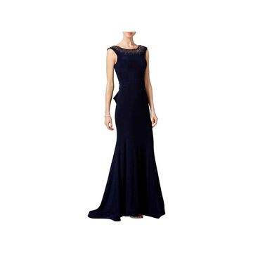 Xscape Womens Evening Dress Ruffle Formal
