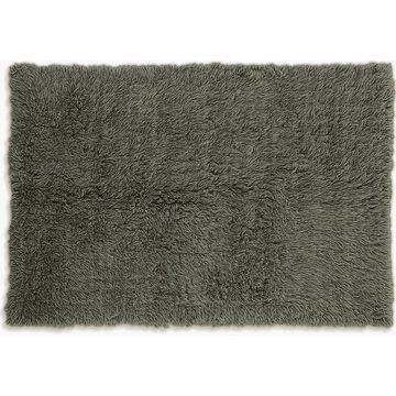 Linon 3A Flokati Shag Wool Rug, Green, 3X5 Ft